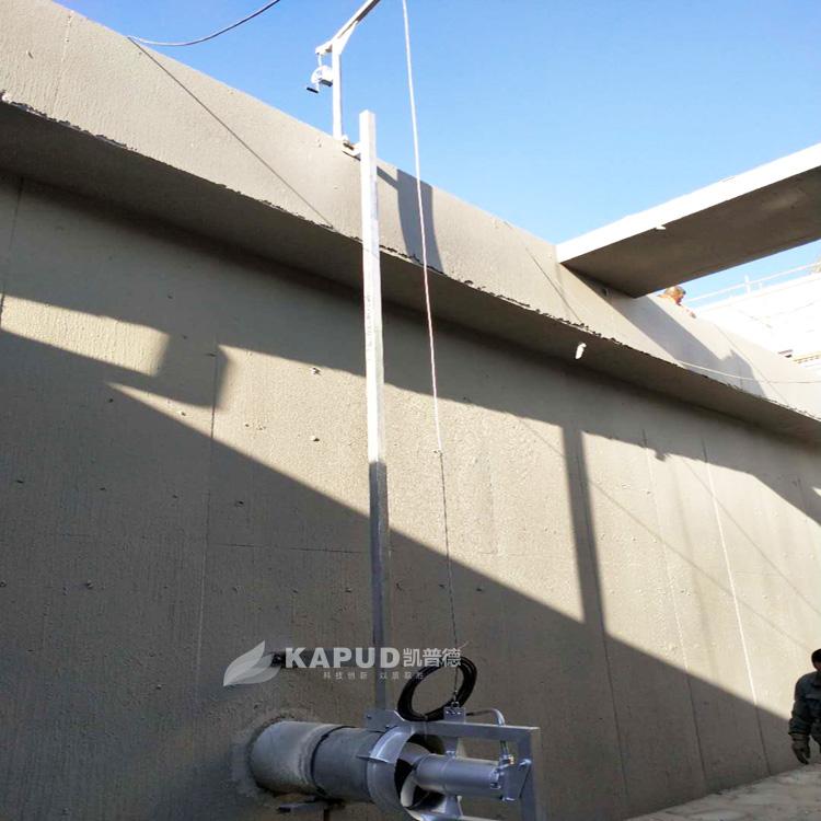 凯普德沉水式潜水回流泵 水平螺旋泵 污泥穿墙泵QJB-W1.5/8
