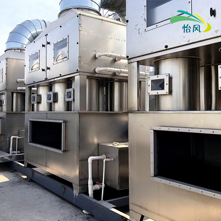 科信不锈钢喷淋塔 烟气净化喷淋设备 工业废气净化塔GP型