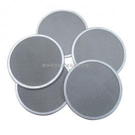HHLQQ定制包边过滤片 圆形筛网金属滤网 熔喷布机过滤网片