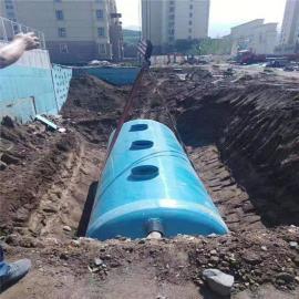 化粪池储水灌沉淀池隔油池玻璃钢化粪池一体化污水处理设备