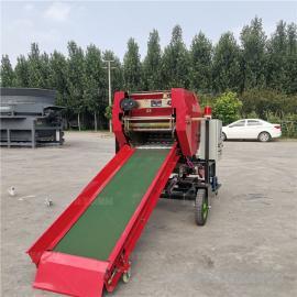 圣泰打捆包膜机生产企业 鲜玉米秸秆打包机产量 YK5552