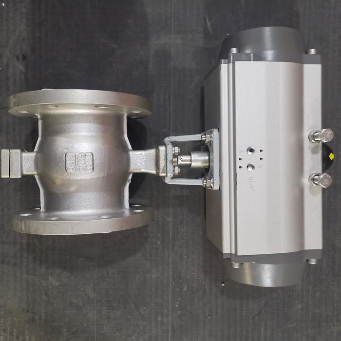 QV647V-25P气动V型调节球阀瑞通QV647F-25P
