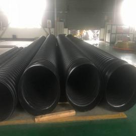 市政排水钢带增强螺旋波纹管价