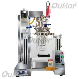 欧河实验室用zhenkong成套反应qi,zhenkong乳化搅拌反应釜AIR-2S