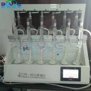 巴跃全自动智能一体化蒸馏仪/常压蒸馏瓶BA-ZL6B