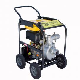 伊藤动力电启动3寸柴油抽水泵现货YT30DPE-2