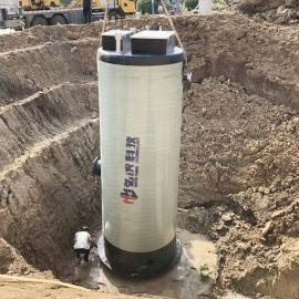 弘泱科技一体化预制泵站地埋式预制泵站定制HYGRP