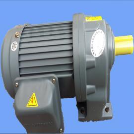 玺朗卧式齿轮减速电机 速比30比小型减速马达GH18-100-30S