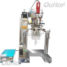 ouhor欧河实验室纳米材料分散用小型恒温密闭超声反应釜品牌AIR-UH900T