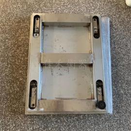 佳禾衡器1T/500g防爆电子地磅,尺寸0.8X1m防爆不锈钢平台秤SCS-JH