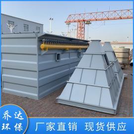 乔达铸造行业80袋单机脉冲布袋除尘器 定制收尘器HMC