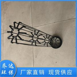 乔达环保水泥厂16根筋镀锌除尘器骨架 支撑强度大125*5980
