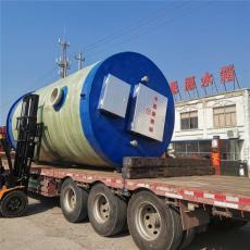 思源多台联用智能污水提升泵站一体化2*7m