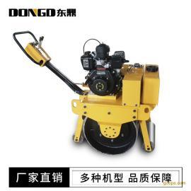 东鼎小型压路机 手扶式振动碾沟槽回填土压实D-600