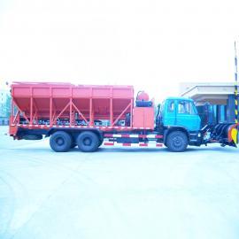 FH富华路面除雪撒盐机 环卫大型撒布车 撒布机