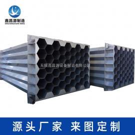 鑫昌源设备制造湿式静电除尘器 2205材质不锈钢阳极管电话咨询