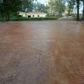 真石丽C25商品混凝土压花地坪材料