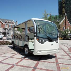 电动观光车 十一人座电瓶游览车 景区游览车LX-S11