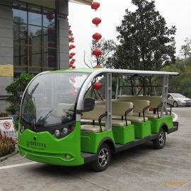 电动观光车 十四座电瓶游览车 景区游览车 电动游览车厂家直销LX-S14