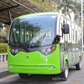 四轮电动观光车-14座封闭式观光车LX-S14.F
