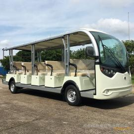 17座电动观光车 景区观光车LX-S17