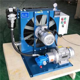 JIAN YI剑邑液压泵站独立循环型风冷却器 液压系统循环冷却散热设备ELDL-6-A3