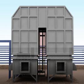 汉蓝VOC有机废气蓄热焚烧炉RTO 工业废气治理 废气净化设备HL
