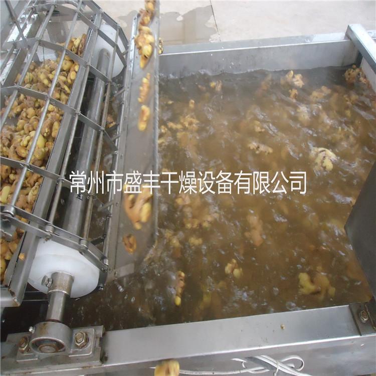 姜片带式干燥机、姜片带式烘干机、多层带式姜片烘干设备