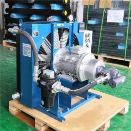 剑邑牌温控型自吸循环型液yafeng冷却器 du立循环型feng冷shi油冷却器ELZX-8-A3