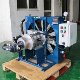 JIAN YI剑邑温控启停型feng冷shi油冷却器 du立循环型液yafeng冷却器散热器ELZX-8-A3
