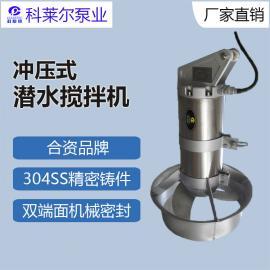 珂莱erQJB5/12不xiu钢混合型冲压shishui下高速搅拌机潜shui大叶轮搅拌器