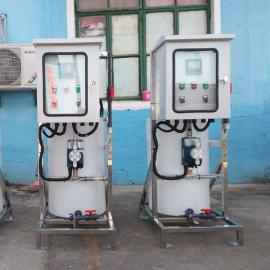AINFO订制工业污水全自动加药系统AG官方下载,排污处理成套设备KS200