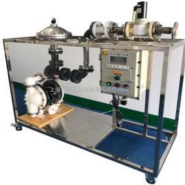 龙魁小型移动小车液体变频定量控制系统WDK