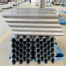 凯迪不锈钢斜管填料污水处理装置孔径50/60/70/80等