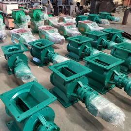安创现货 不锈钢圆口方口卸灰阀刚叶轮给料机 卸料阀 星型卸料器YJD150-600