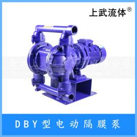 不锈钢304电动隔膜泵 耐腐蚀304电动DBY