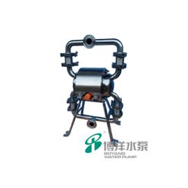 工博卫生级304气动隔膜泵 果酱泵QBW