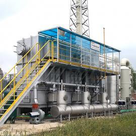 VOC有机废气处理设备一体机工ye高盐焚shao炉