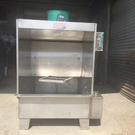 废气处理不锈钢水帘机 环保单工位喷漆台 废气漆雾处理