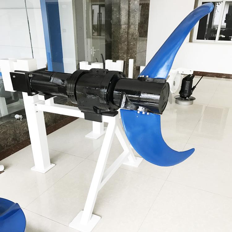 凯普德缺氧池潜水推流器安装 低速推流器QJB2.2/4-1400/2-43