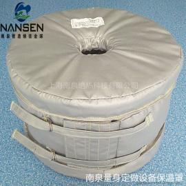 BOPET挤出机熔体过滤器保温套过滤器可拆装柔性保温罩