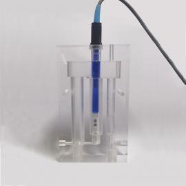 环科仪实时在线二氧化氯电极恒流通池溶解臭氧传感器水流调节流通槽O3