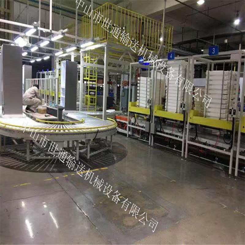 世通输送机车载冰箱生产线 组装线 总装流水线452