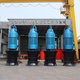 德能44.排�痴� 井筒式6KV��水混流泵2600QH-1000KWQHB
