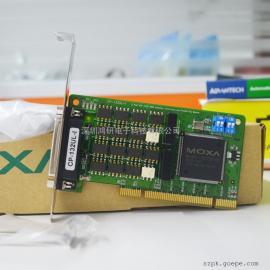 MOXA摩莎通�卡2端口RS-232通用PCI多串卡CP-102U