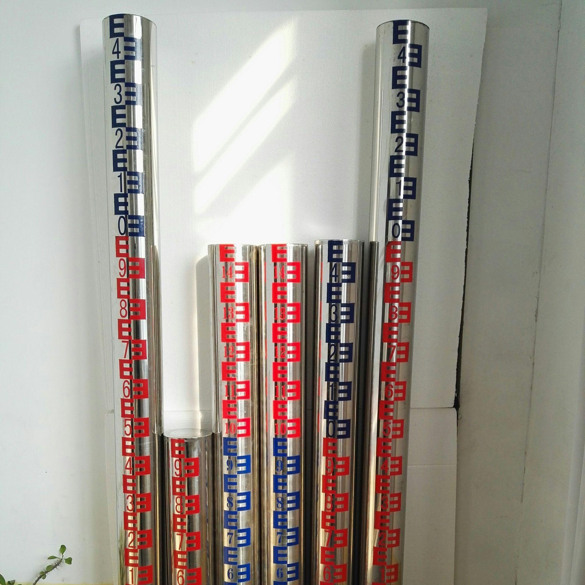 金水华禹不锈钢一体化圆柱水尺