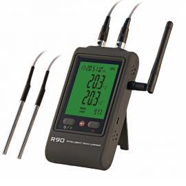 希创无线wifi外置双温度记录仪
