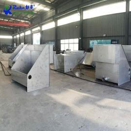 如克不锈钢材质斜shaishifen离设备 振动shifen离器 RKSF固液fen离机RKSF-20/25