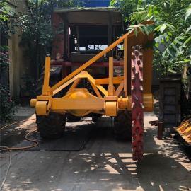 丰雷益路面开沟机 拖拉机带动挖沟机 生产加工圆盘链条