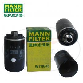MANN-FILTER(曼牌滤清器)曼牌 油滤W719/45